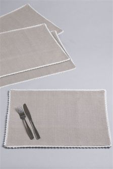 2 Pack Woven Placemats