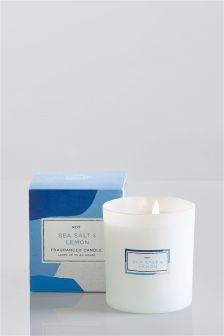 Sea Salt And Lemon Candle