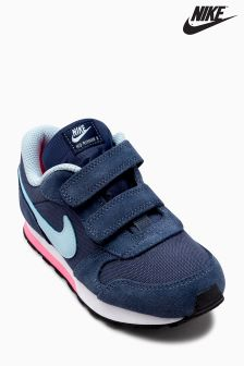 Nike Navy/Blue MD Runner 2 Velcro