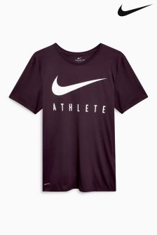 Nike Gym Wine Dry Athlete T-Shirt