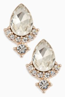 Jewelled Stud Earrings