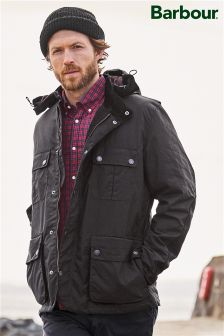 Barbour® Black Spynie Jacket