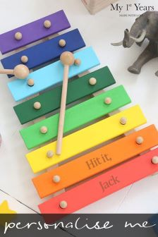 Personalised Xylophone Toy by My 1st Years