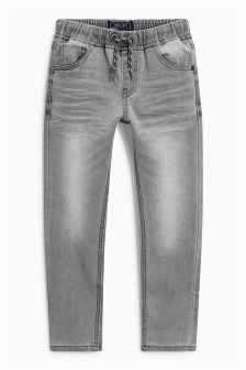 Jersey Look Pull-On Super Skinny Jeans (3-16yrs)