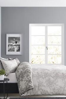 Lace Print Bed Set