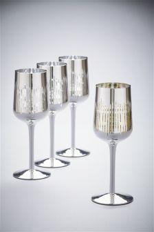 Set of 4 Berkeley Wine Glasses