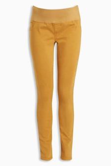Maternity Half Narrow Bump Band Soft Skinny Jeans