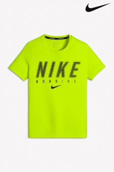 Nike Volt Dri-FIT Miler Running Top