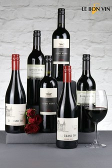 6 Bottles Relaxing Reds Wine Selection