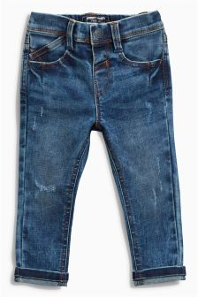 Stretch Five Pocket Jeans (3mths-6yrs)