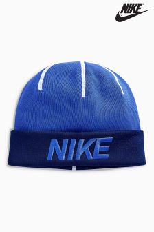 Nike Blue Training Beanie
