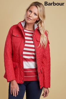 Barbour® Red Buryhead Quilt Jacket