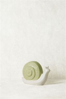 Ceramic Snail Sculpture