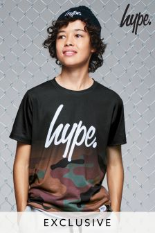 Hype Camouflage Fade T-Shirt