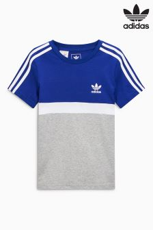 adidas Originals Blue/Grey Panel Tee