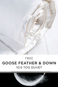 Goose And Down 10.5 Tog Duvet