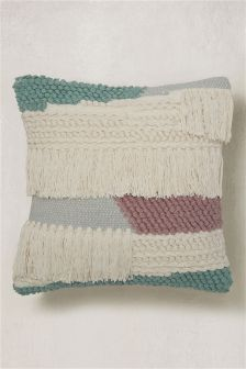 Woven Tassel Cushion
