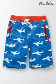 Boden Blue Adventure Shorts
