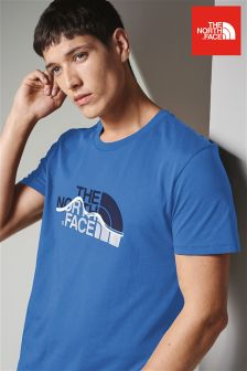 The North Face® Bomber Blue Mountain Line Tee