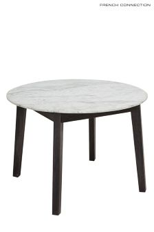 French Connection Agra Marble Dining Table