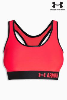 Under Armour Red Armour Mid Bra