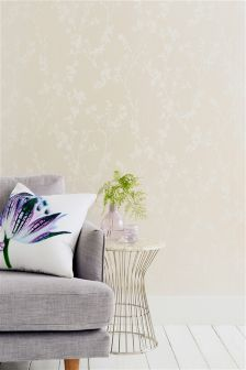 Paste The Wall Blossom Print Wallpaper