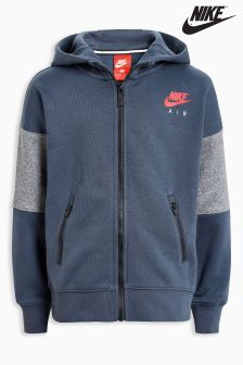 Nike Air Little Kids Thunder Blue Zip Through Hoody