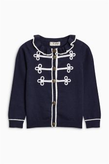 Military Effect Cardigan (3mths-6yrs)