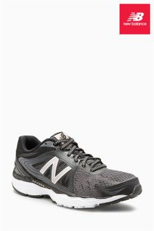 New Balance Black/Silver 680