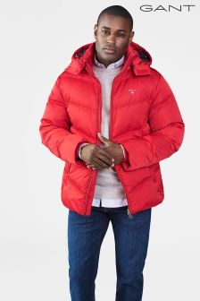 Gant Red The Alta Down Jacket