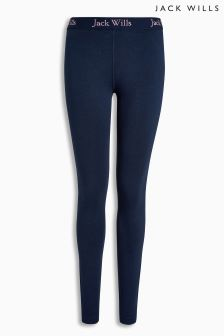 Jack Wills Navy Redbrook Leggings
