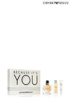 Emporio Armani Because It's You Gift Set For Her