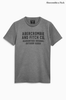 Abercrombie & Fitch Grey Logo T-Shirt