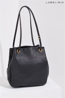 Mix/Mimi Berry Leather Grayson Bag