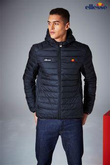 Ellesse Black Quilted Jacket