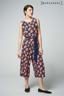 Warehouse Multi Climbing Rosa Jumpsuit