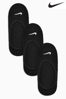 Nike Black Footsies Three Pack