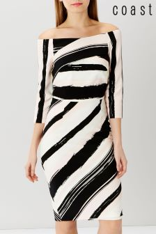 Coast Columbus Ishani Shift Dress