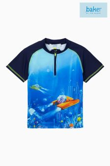 Baker By Ted Baker Blue Rash Vest
