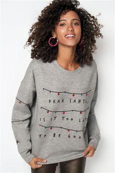 Christmas Dear Santa Jumper