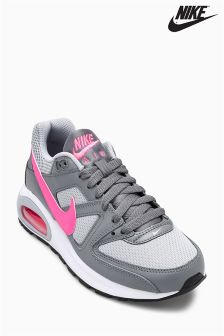 Nike Grey/Pink Air Max Command