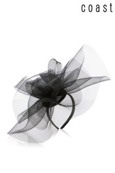 Coast Black Korina Fascinator