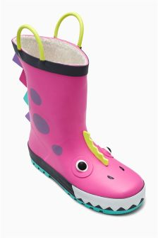 Monster Wellies (Younger Girls)