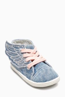 Wings Crawler High Tops (Younger Girls)