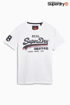 Superdry Stripe Logo T-Shirt