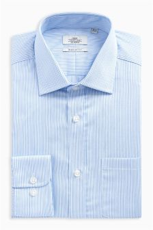 Fine Stripe Regular Fit Shirt