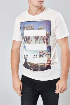 Embossed LA T-Shirt