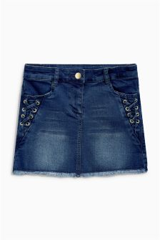 Tie Side Denim Skirt (3-16yrs)