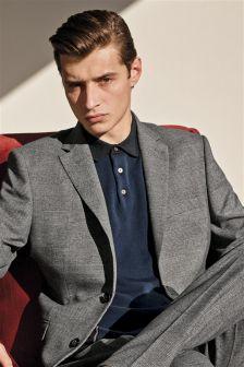 Check Slim Fit Suit: Jacket