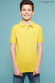 Tommy Hilfiger Yellow Ame Polo Top